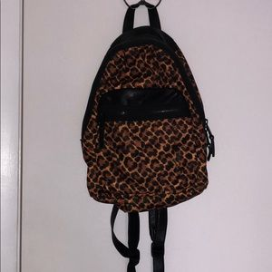 French Connection print backpack